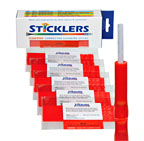 Sticklers® 2.0mm & 1.6mm connector cleaning stick, for cleaning MIL-C-38999, MIL-C-28876,D4, MT-RJ