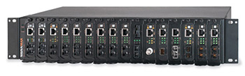 Signamax™16-Bay Rack Mount Media Converter Chassis, AC