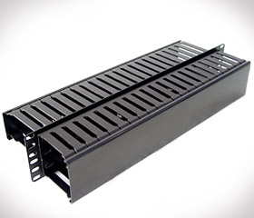 Horizontal 2 Sided Wire Channel