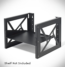8 Unit Wall Mount Rack