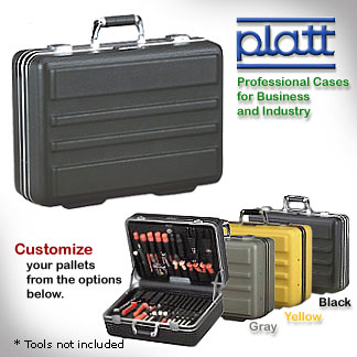 Technician's Tool Case - 8 inch depth - Deluxe