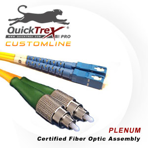 7 meter FC to SC Singlemode Duplex Patch Cable - CustomLine