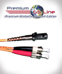 5 meter MT-RJ to ST Multimode Duplex Patch Cable - PGS Line