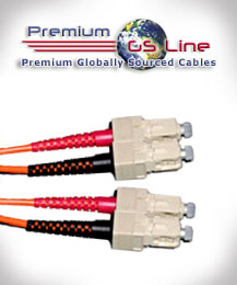 5 meter SC to SC Multimode Duplex Patch Cable - PGS Line