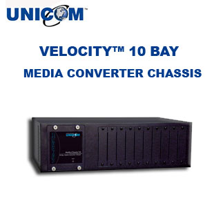 VELOCITY™ 10 Bay Media Converter Chassis