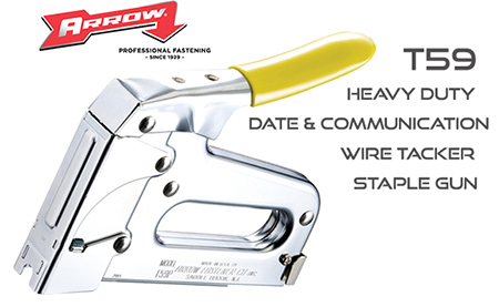 T59 Wire and Cable Insulated Staple Gun