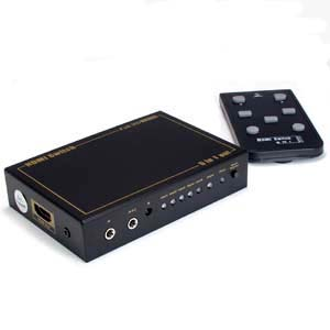 5 x1 HDMI® Switch with IR Extension