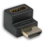 HDMI Male to Female 90 Degree Gold Plated Adapter