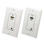 HDMI® Remote Control IR Extender Wall Plate 1080p – Up to 100Ft (30m)