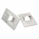 Low Profile Recessed Wall Plate
