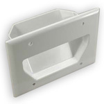 Recessed Wall Plate for 3 Gang Boxes
