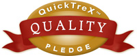 QuickTreX Quality Pledge
