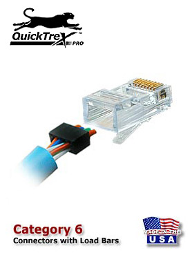 How to make a category 6 patch cable it is now not only possible but also easy to field terminate category 6 modular plugs thanks to the new quicktrex category 6 modular plug which contains a swarovskicordoba Image collections