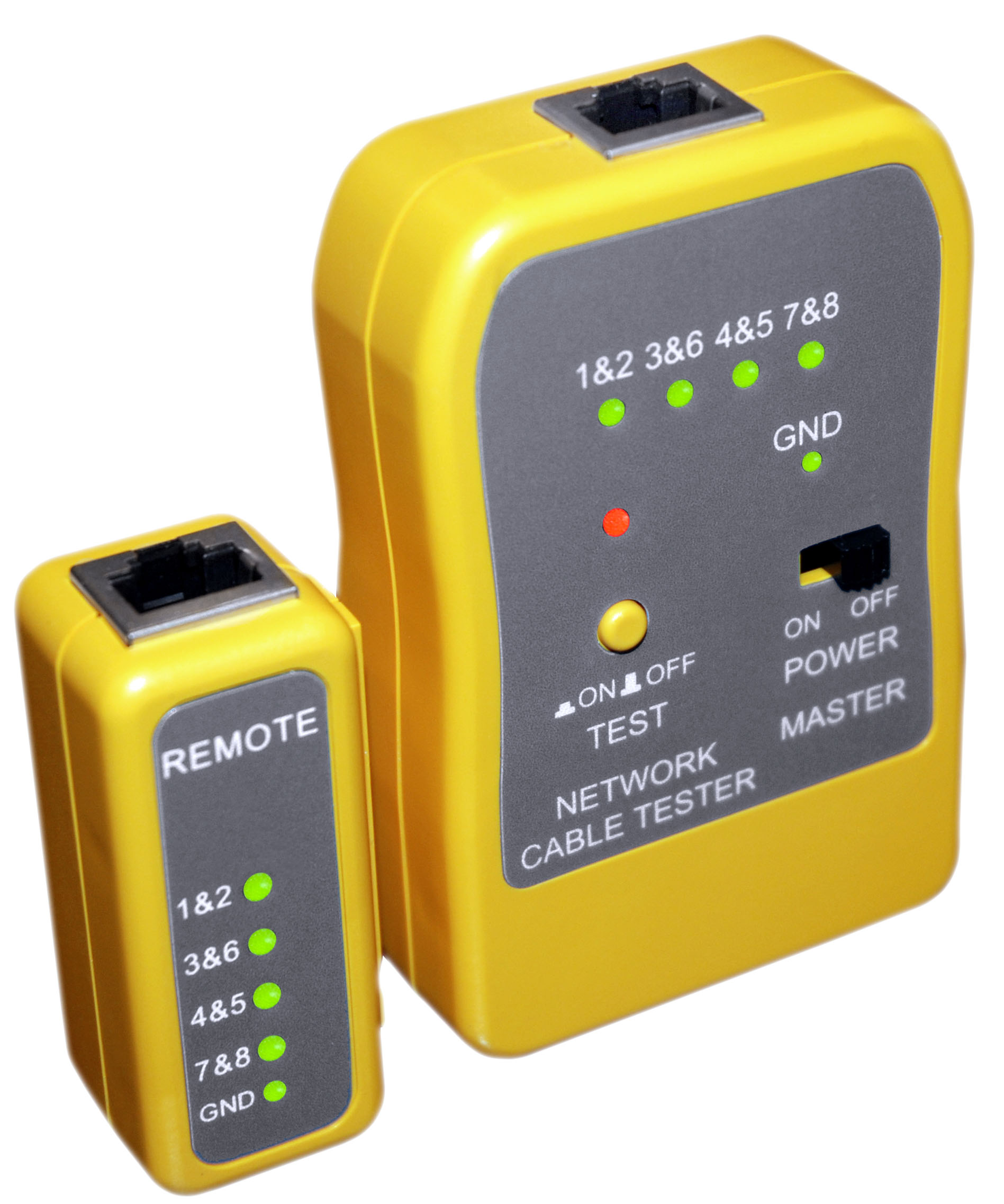 Quicktrex Lanpro Series Network Administrator Ii Kit Lan Tester Lantest Pro Cable With 8 Remotes