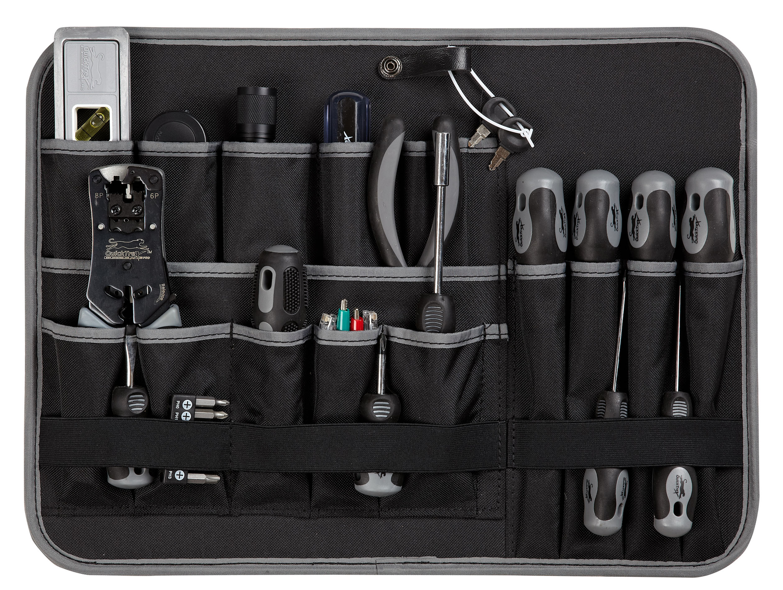 quicktrex artisan series hyperion electro tech toolkit v 2 with 30 pc socket set qt tk. Black Bedroom Furniture Sets. Home Design Ideas
