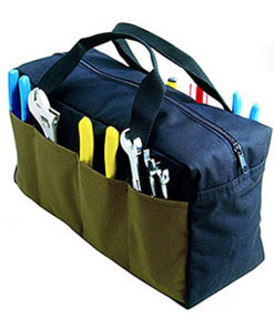 A Superior Economical Tool Tote Bag With Lots Of Pockets That Will Carry All Your Basic Tools Great Value