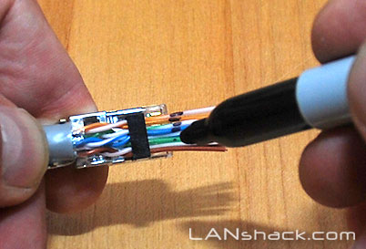 installing cat 6e (and cat 5e) shielded modular plugs using the quicktrex™  system