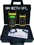 Fiber OWL 4 BOLT / WaveSource MM Auto-test kit with integrated VFL