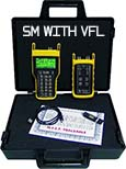 Fiber OWL 4 BOLT / WaveSource SM Auto-test kit with integrated VFL
