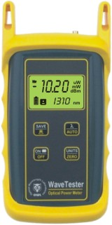 WaveTester optical power meter with integrated VFL port