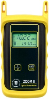 ZOOM 2 optical power meter w/integrated VFL