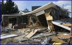 House destroyed by Superstorm Sandy